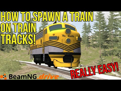 WIP - Train, Locomotives | BeamNG