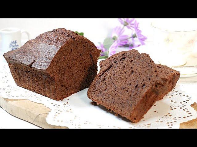【初心者必見】ダイソーの型で作る基本のチョコパウンドケーキの作り方 How to make chocolate pound cake