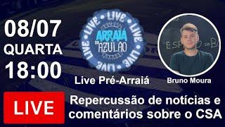 Pré-Live Arraiá do Azulão - Expectativa e Novidades