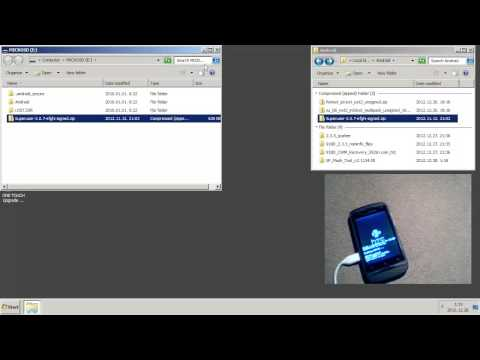 Rooting Alcatel 918D with CWM Recovery