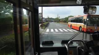 【前面展望】新三田駅~関西学院大学~学園7丁目【神姫バス・48系統】
