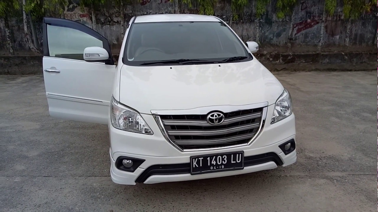 Dijual Mobil Toyota Kijang Innova G Luxury 2013 Matic Putih