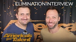 Gambar cover Elimination Interview: Front Pictures Chats About Their AGT Performances - America's Got Talent 2018
