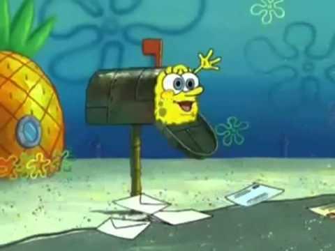 Spongebob Squarepants: Hi mailman!
