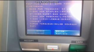 Cara setor tunai ATM Mandiri