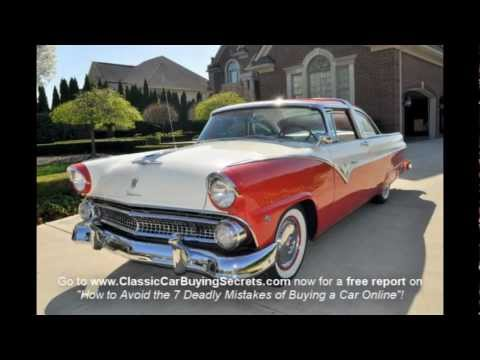 1955 Ford Fairlane Crown Victoria Classic Muscle Car for Sale in MI Vanguard Motor Sales