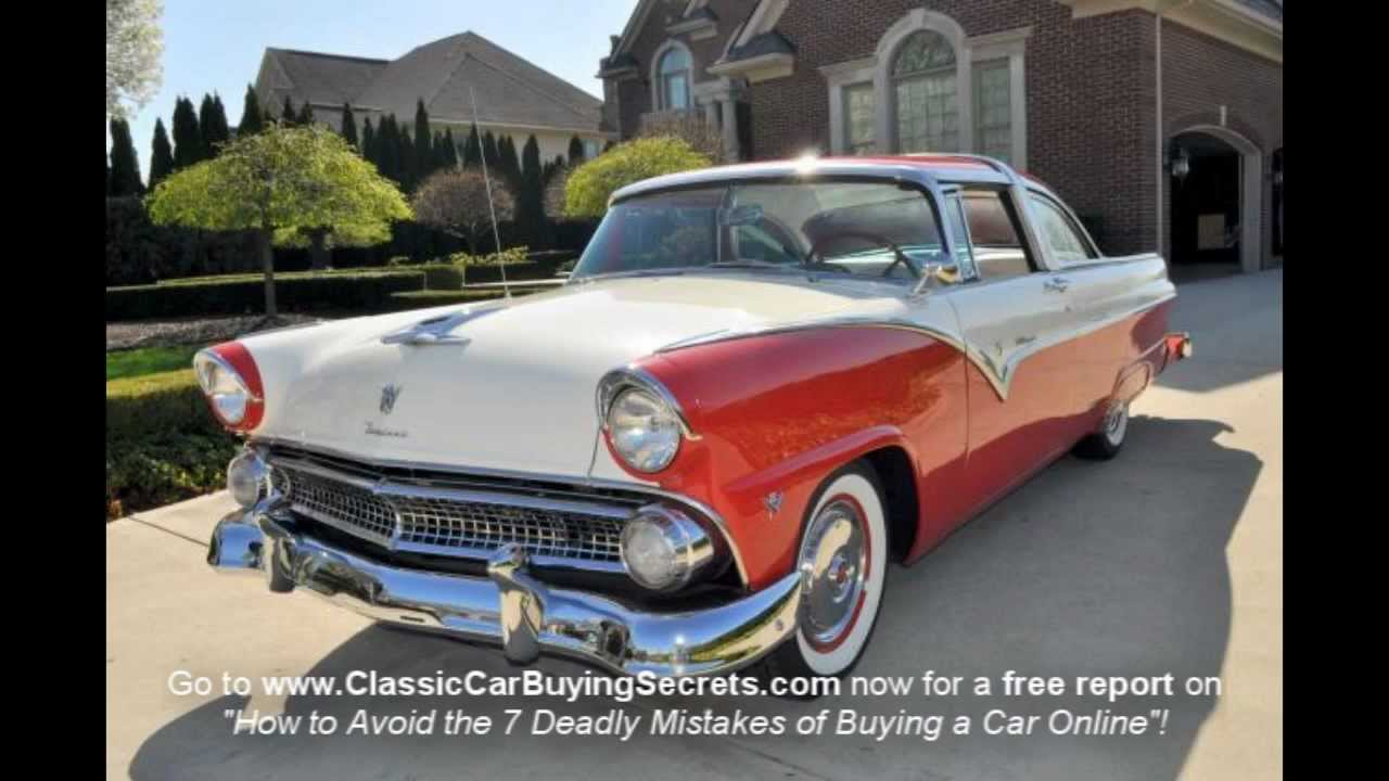 1955 Ford Fairlane Crown Victoria Classic Muscle Car For Sale In Mi 1969 Vanguard Motor Sales