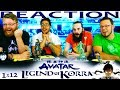 "Legend of Korra 1x12 FINALE REACTION!! ""Endgame"""