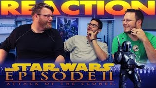 Star Wars Attack of the Clones HONEST TRAILER REACTION!!