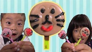 アンパンマン ミニペロペロチョコ Anpanman Lollipop Chocolates thumbnail