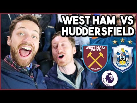 WEST HAM vs HUDDERSFIELD - Premier League 2017/18