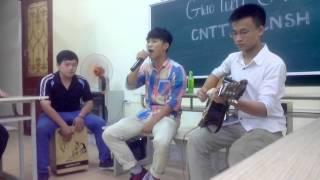 Hà Nội trà đá vỉa hè -giao lưu  guitar CNTT vs CNSH [ Bio Guitar ]