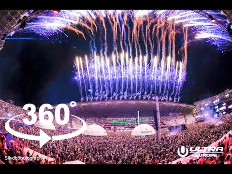 ULTRA EUROPE 2016 — SPLIT | 360º VR | Pointers Travel