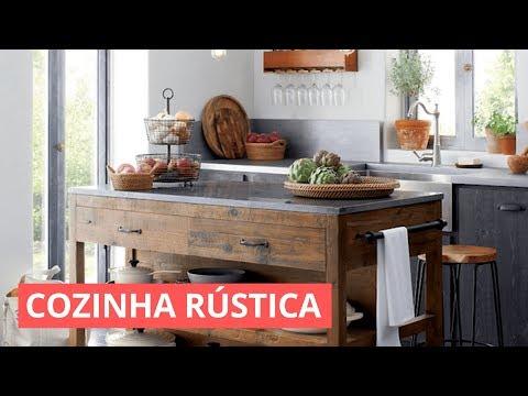 COZINHA RÚSTICA - DICAS E IDEIAS DE DECORAÇÃO