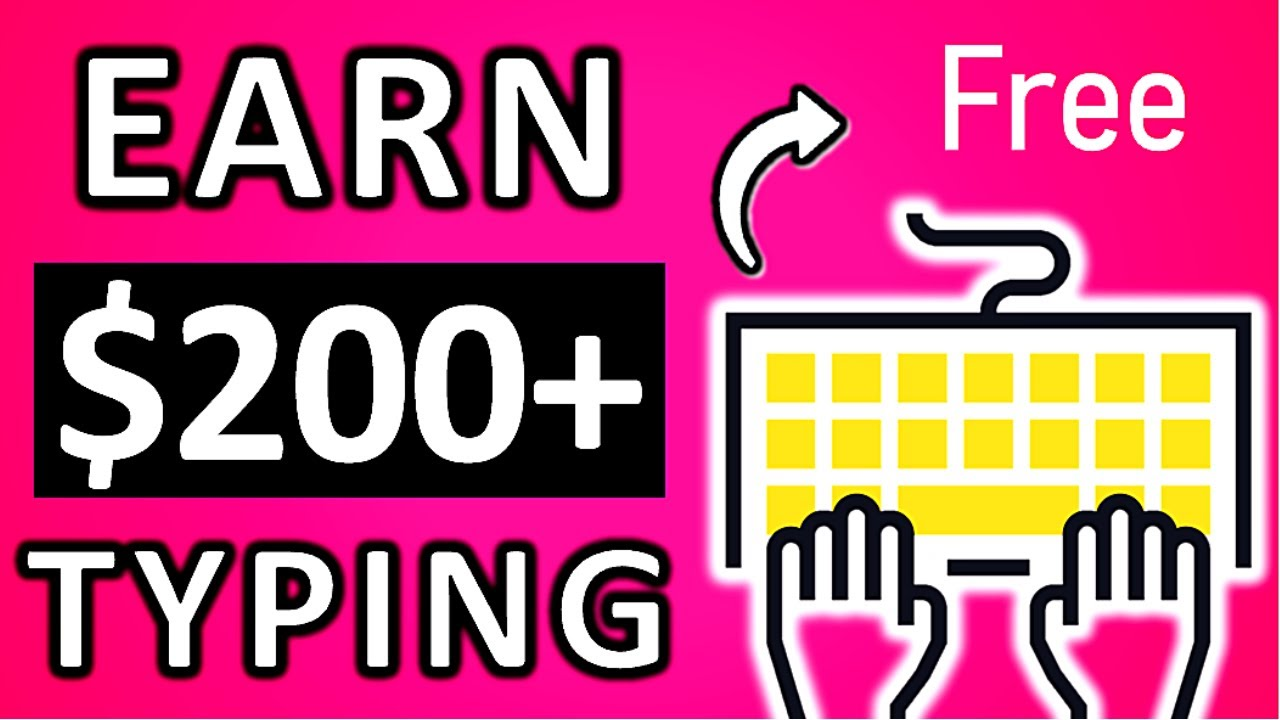 Earn $200 Daily from EASY Typing Jobs (Worldwide) - Make Money Typing Online | Branson Tay