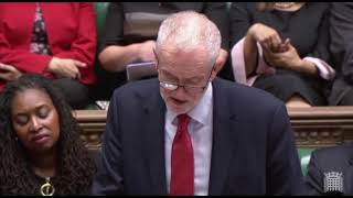 Corbyn on Pension Scandal
