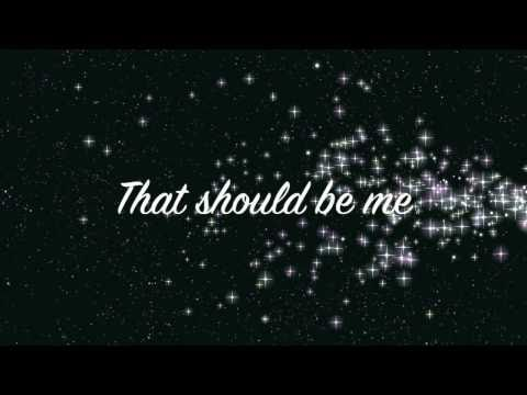 Justin Bieber - That Should Be Me (Acoustic) - Lyrics Video (HD)