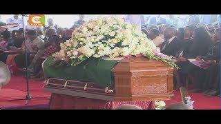 Marehemu Nkaissery azikwa nyumbani kwake Ilbisil, Kajiado