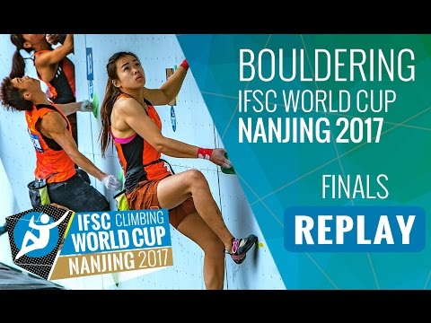 IFSC Climbing World Cup Nanjing 2017 - Bouldering - Finals - Men/Women