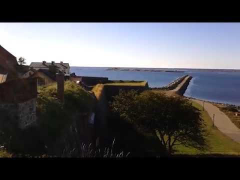 A view from Varberg Fortress, 2013