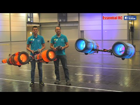STAR WARS Radio Controlled (RC) Pod Racer ACTION ! (The Phantom Menace POD RACING)