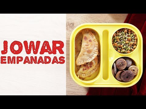 Jowar Empanadas Recipe | Homemade Vegetarian Empanadas Recipe | Healthy Tiffin Recipe For Kids