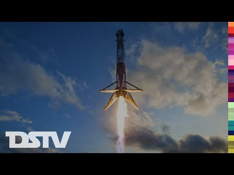 SPACEX LAUNCHES CARGO SHIP TO THE ISS (CRS-12)