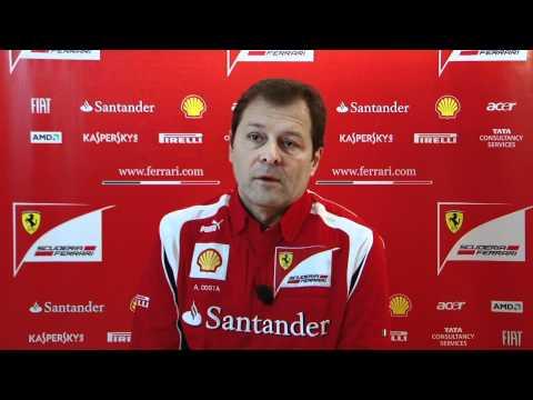 Ferrari 2011 F1 car launch - Aldo Costa interview