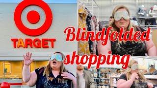 Blindfolded shopping spree