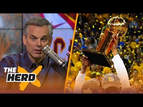 Colin Cowherd makes his 1st round predictions for the 2018 NBA Playoffs | THE HERD