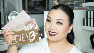 Coastal Scents Revealed Palette 1,2,&3 review | Meimeimakeup
