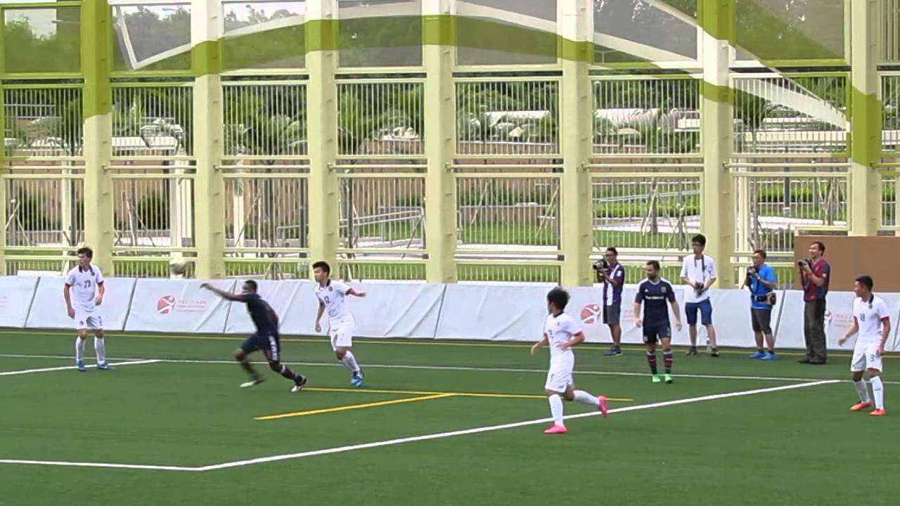 南華vs港隊U18(2015.7.25.香港足球季前熱身賽)精華 - YouTube