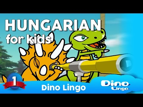 Hungarian for kids - Magyar nyelv - Hungarian learning DVD s