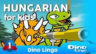 Hungarian for kids - Magyar nyelv - Hungarian learning DVD set for children