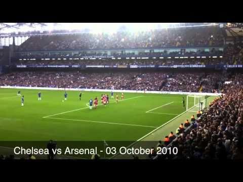 Alex Freekick vs Arsenal 2-0 ... Chelsea 03 October 2010