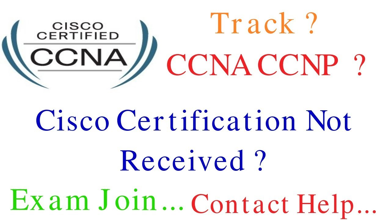 Track Cisco Ccna Ccnp Certificate Cisco Certification Tracking