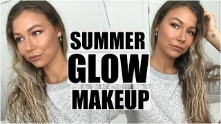 A gorgeous copper, glowy summer makeup tutorial + HUGE $1000 giveaw...
