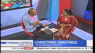 #KtnMorningExpress as Rev Natasha gives her Christmas Message to the Nation Live on KTN