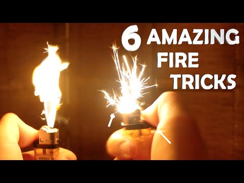Thumbnail: 6 Amazing Fire Tricks! - Super Easy, Very Impressive!!