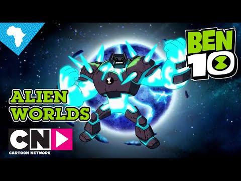 Ben 10 | Alien Worlds: Shock Rock | Cartoon Network Africa