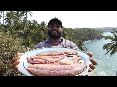 RARE STYLE COOKING | BIG FISH EGGS BARBECUE WITH BELL PEPPER | Street Food