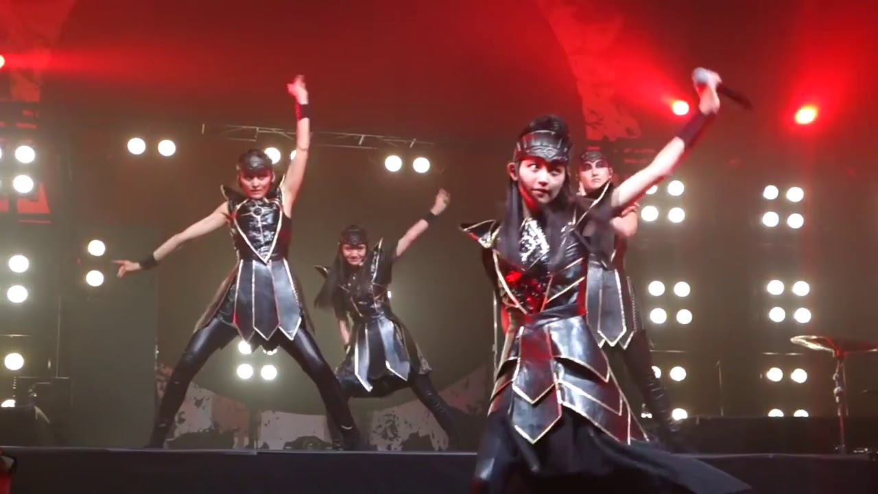 "【UME★Mash】""Elevator Girl "" Darkside BABYMETAL New song ..."