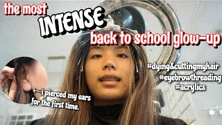 the most INTENSE back to school glow-up EVER | Vanessa Nagoya