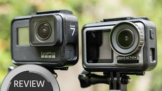 DJI Osmo Action vs. GoPro HERO7 - The King of Action Cams Dethroned?