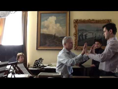 Master Class of conducting / Professor Vladimir Ponkin 2014 (English subtitles)