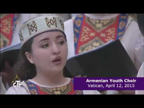 Armenian youth choir