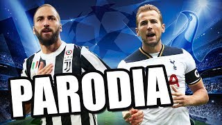 Canción Juventus vs Tottenham 2-2 (PARODIA Chambea - Bad Bunny)