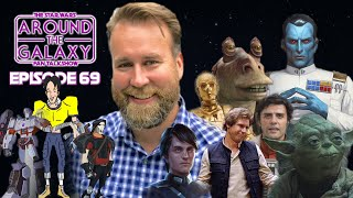 Star Wars Audiobook Narrator & VoiceActor Marc Thompson | Around the Galaxy