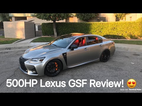 500hp Lexus GSF Review!