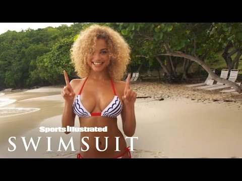 Rose Bertram Takes Topless Dancing To Another Level | Outtakes | Sports Illustrated Swimsuit